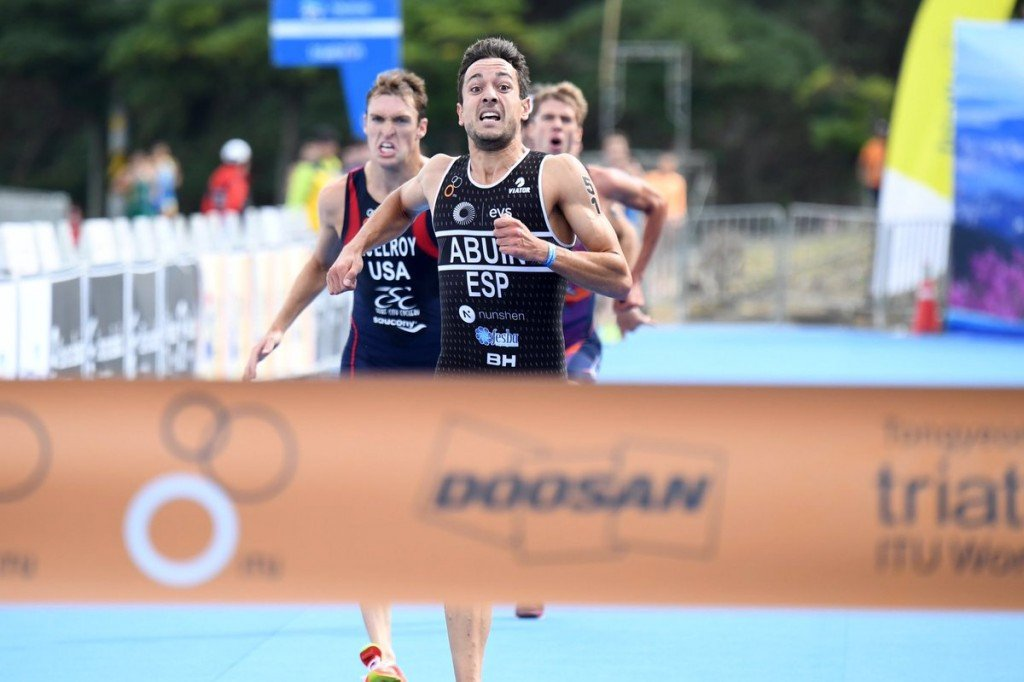 Abuin Ares sprints to maiden ITU World Cup win in Tongyeong