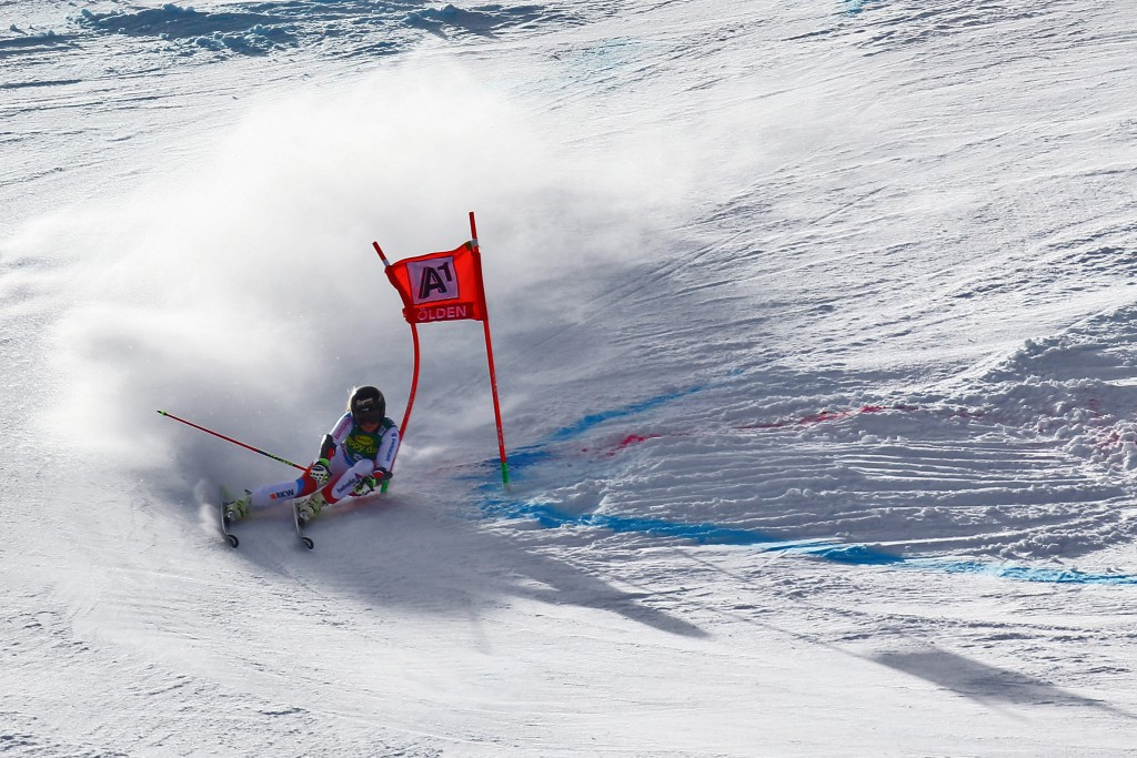 Lara Gut won the season-opening event in the Austrian resort ©Getty Images