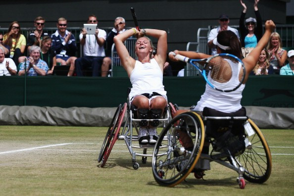 Yui Kamiji and Jordanne Whiley will revive a winning doubles partnership from last year ©Getty Images