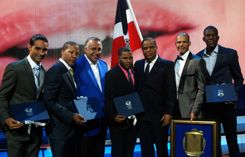 Dominican Republic Olympic Committee honours Sánchez at annual Gala
