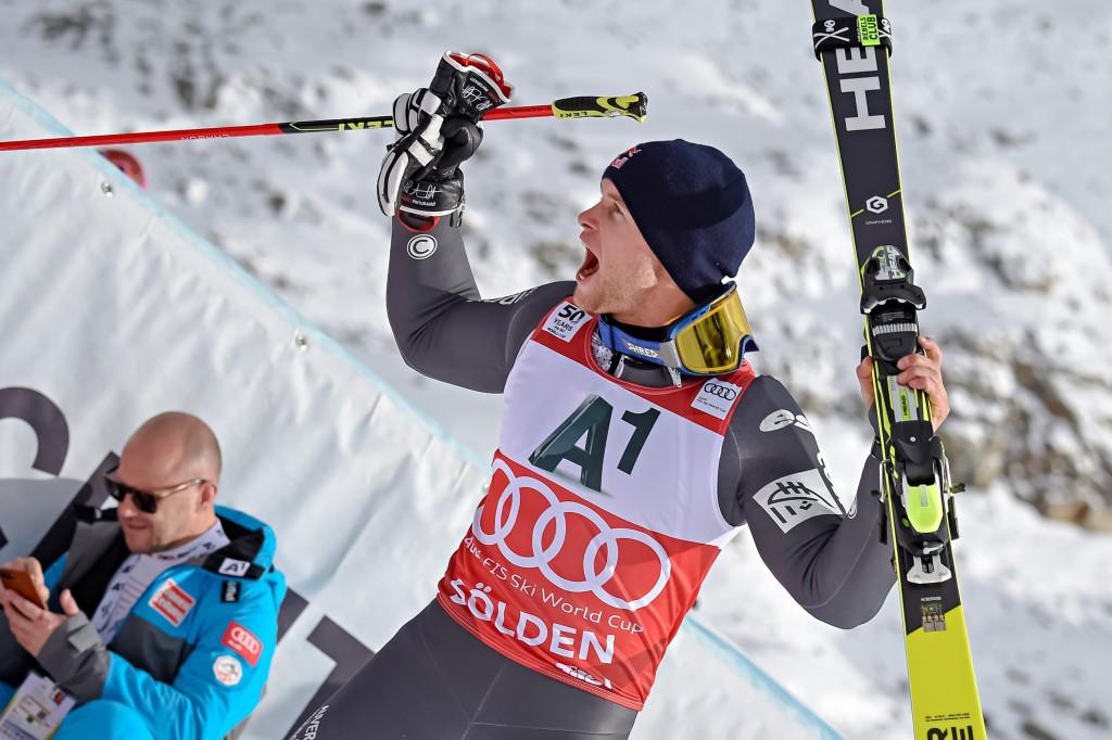 Olympic bronze medallist Pinturault claims giant slalom honours as men's FIS World Cup season begins