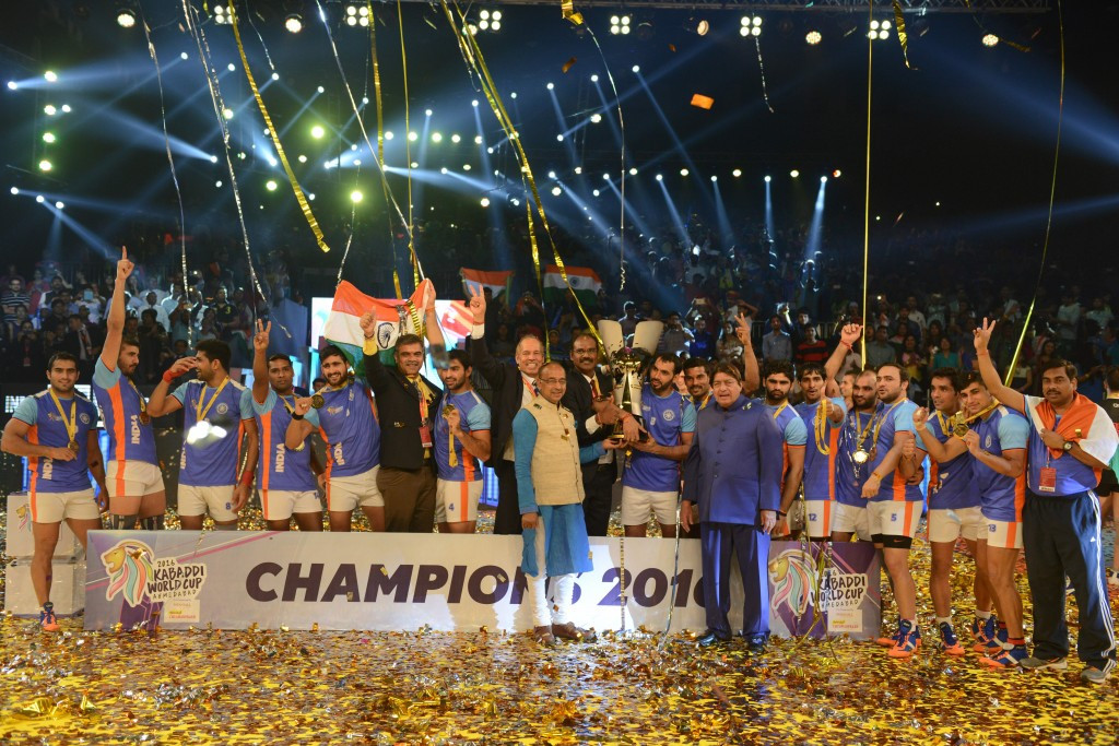 India fight-back to beat Iran and win third successive Kabaddi World Cup