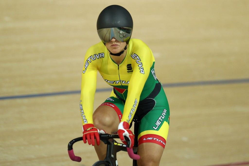 Krupeckaitė rolls back the years to win gold on final day of European Track Championships
