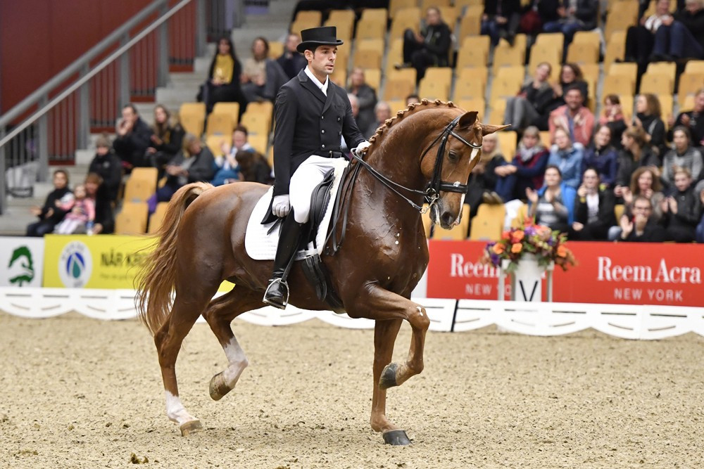 Lopez wins World Cup Dressage opener in Odense