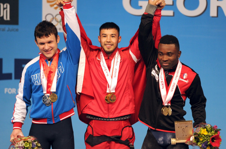 Turkey's Daniyar Ismayilov claimed the men's under 69kg overall title ahead of Russia's Sergei Petrov and France's Bernardin Matam