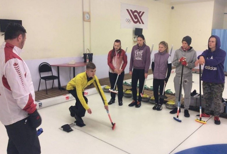 Curling's Olympic Tour attracts more than 350 people in Latvia