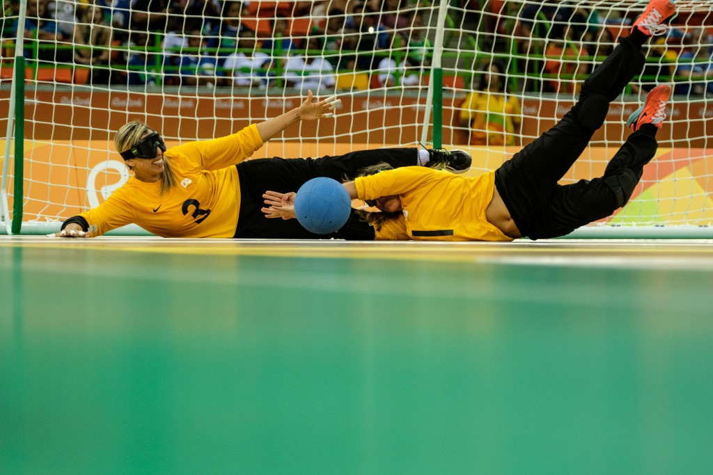 Brazil have leapfrogged China into top spot on the women's IBSA goalball world rankings ©Getty Images