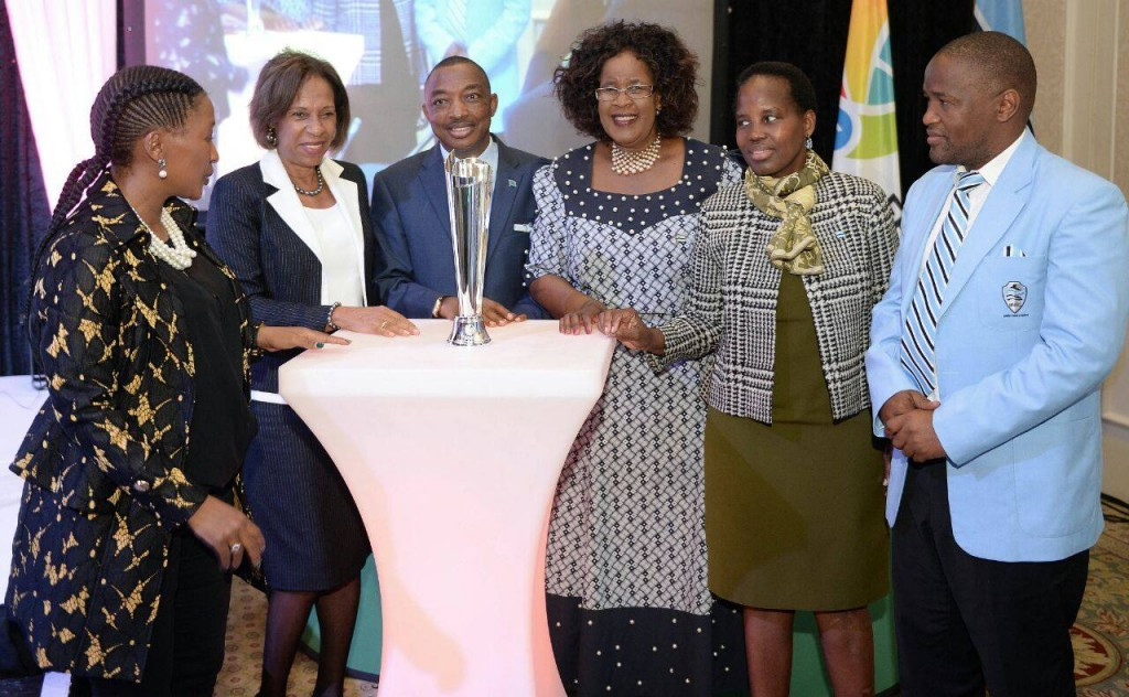 New trophy revealed as draw made for 2017 Netball World Youth Cup in Gaborone