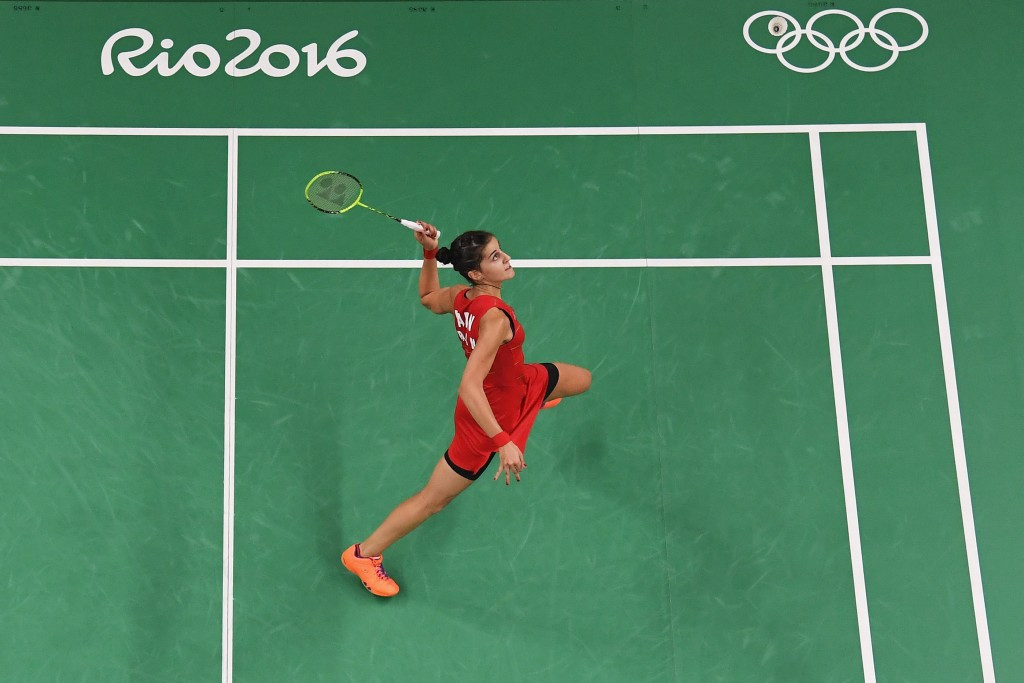 Olympic singles gold medallist Carolina Marin of Spain headlines a strong women's field at the event in the French capital ©Getty Images