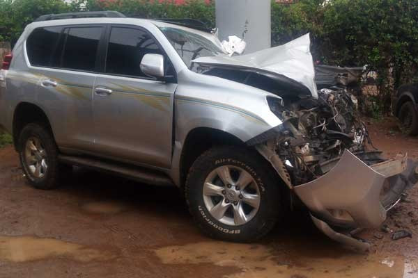 "Kenya's world javelin champion Yego says he is ""lucky to be alive"" after car smash"