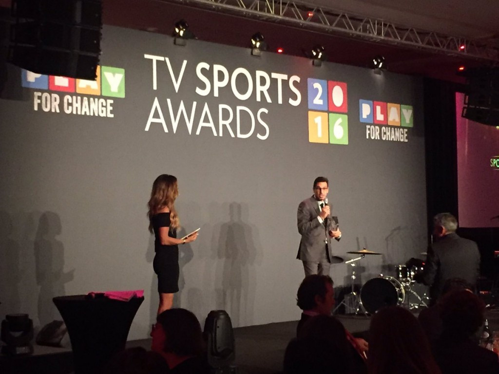 Eurosport named Best Sports Broadcaster for second year running at TV Sports Awards