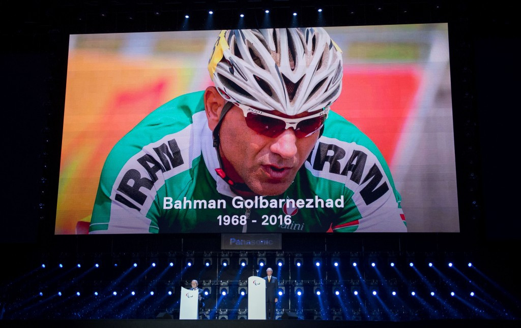 Exhibition to be held in memory of Iranian Paralympic cyclist Golbarnezhad