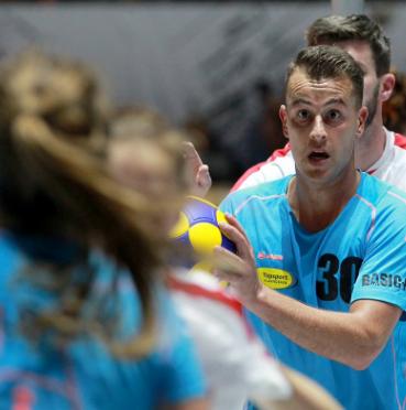 Belgium thrash Poland to stay unbeaten at European Korfball Championships