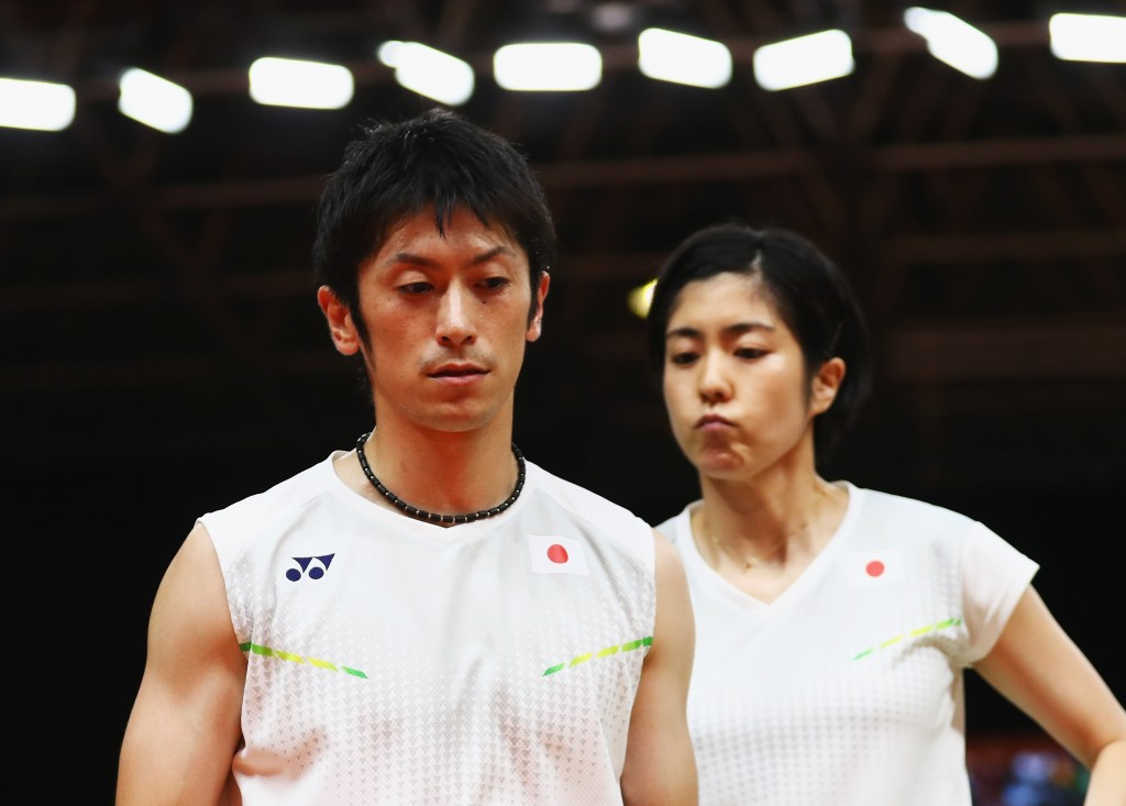 Kenta Kazuno and Ayane Kurihara knocked-out seeded opponents from China on the opening day of the BWF French Open ©Getty Images