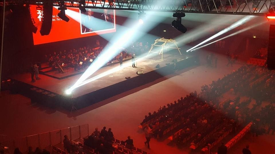 The 2016 Karate World Championships got underway tonight in Linz, Austria with the Opening Ceremony ©ITG