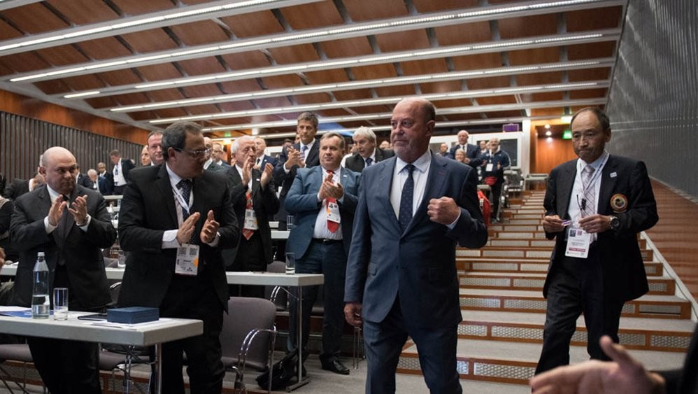 Espinós re-elected World Karate Federation President for six-year term