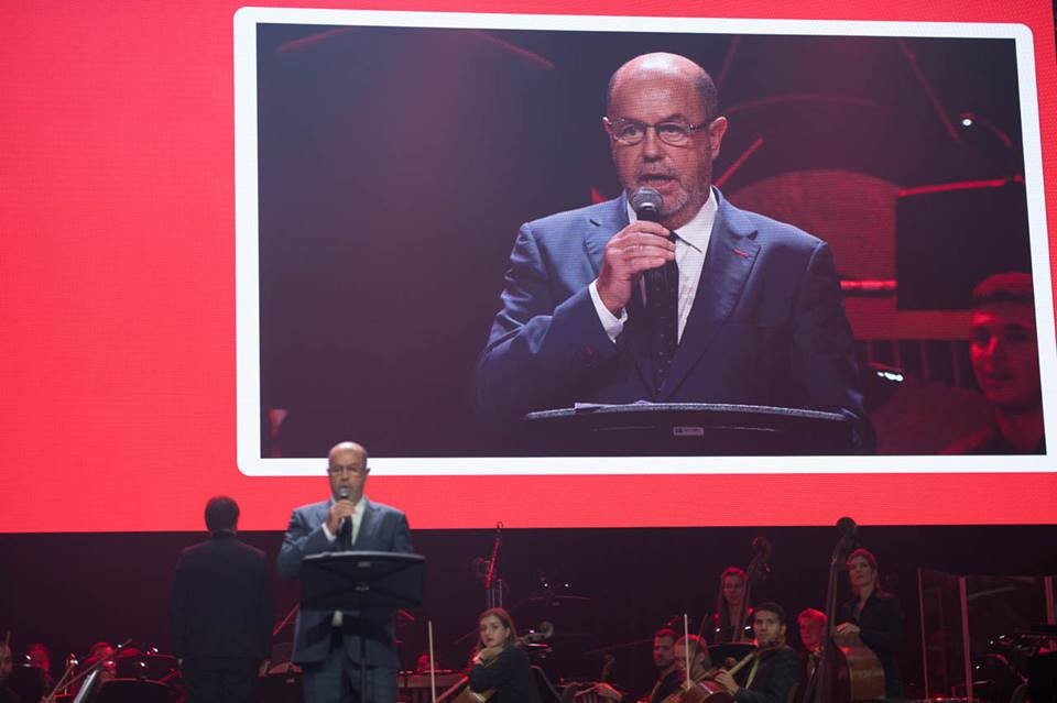 WKF President officially declares open 2016 Karate World Championships