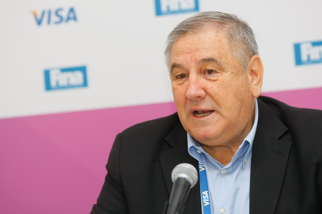 FINA boss urges Tokyo 2020 to stick with plans for new aquatics venue