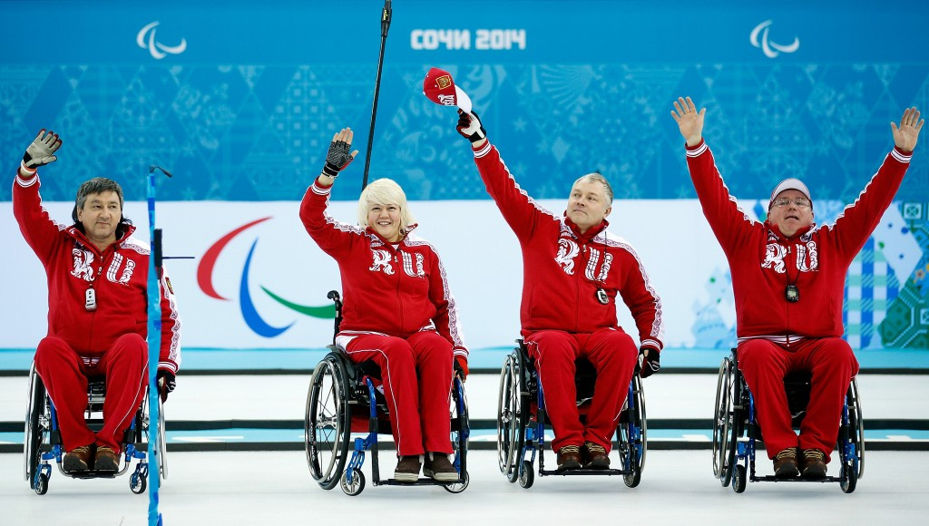 A Russian Paralympic Committee official has claimed the World Curling Federation would allow Russian wheelchair athletes to return to international competition ©Getty Images