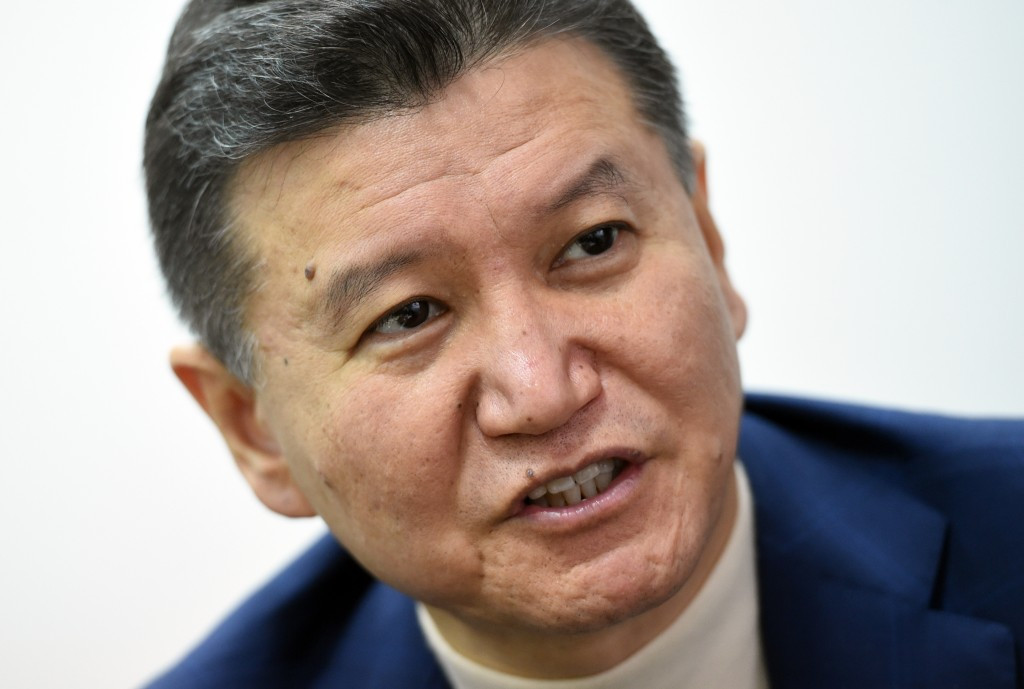 Kirsan Ilyumzhinov was added to the US Sanctions list last year over alleged links to Syria ©Getty Images