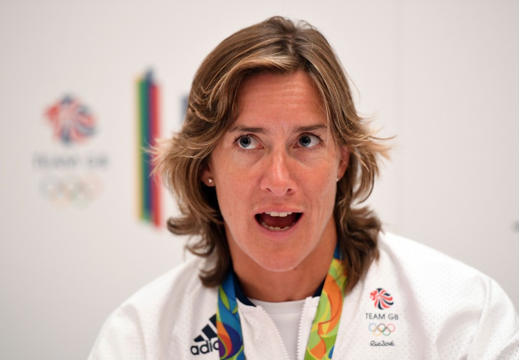 Katherine Grainger is seeking a second term on the BOA Athletes' Commission ©Getty Images