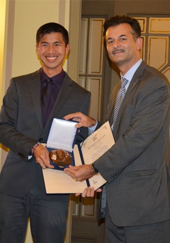 Liew receives World Fair Play Trophy after Singapore nomination