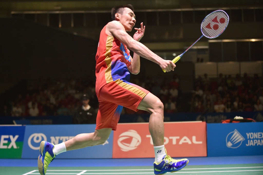 Top seed Lee Chong Wei was forced to withdraw because of injury ©Getty Images
