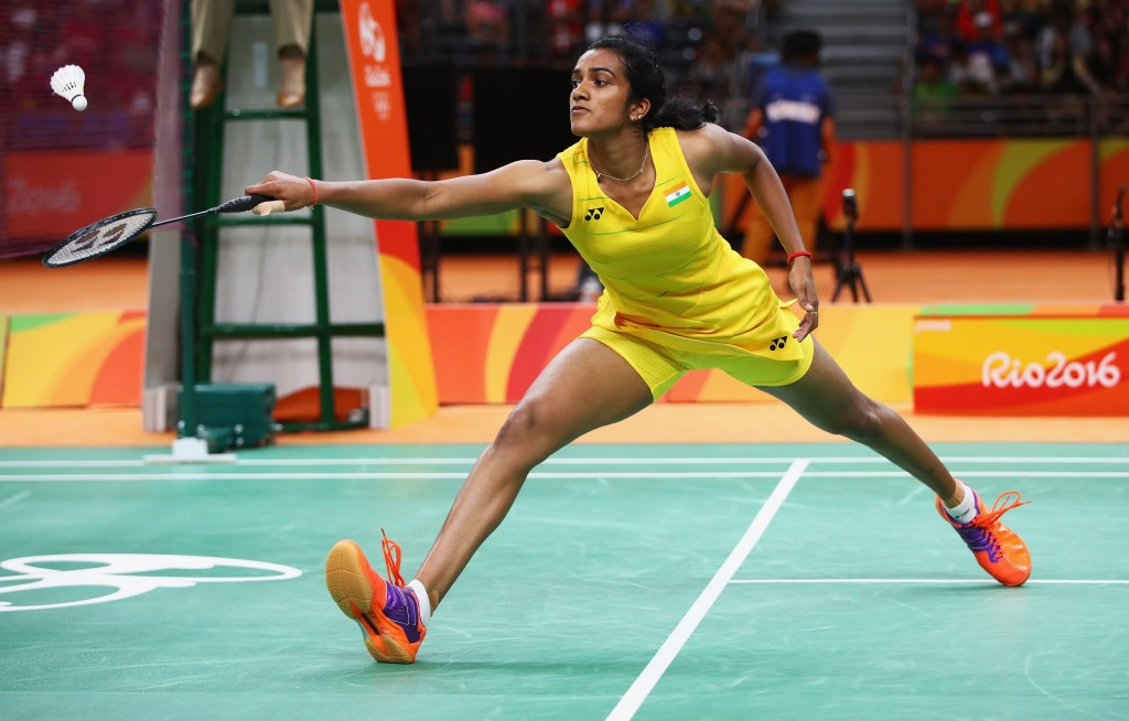 Olympic silver medallist PV Sindhu was among the winners in the women's singles first round ©Getty Images