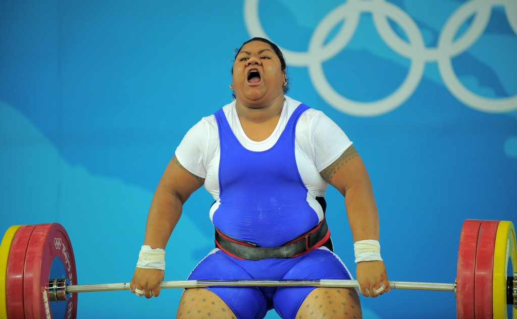 Ele Opeloge is now confirmed as the first Samoan Olympic medallist ©Getty Images