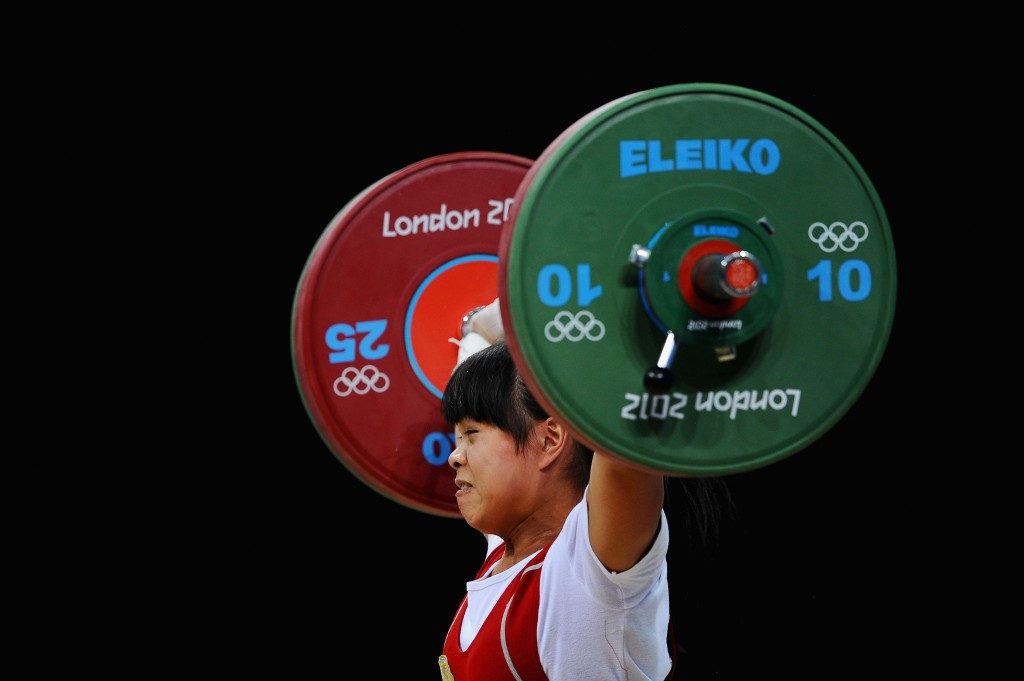 Zulfiya Chinshanlo is one of three weighlifters from Kazakhstan to be stripped of Olympic gold ©Getty Images