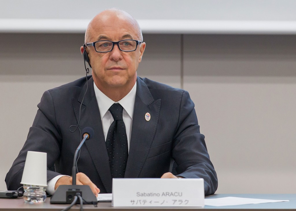 International Roller Sports Federation President Sabatino Aracu is heading the SportAccord Working Group ©Getty Images