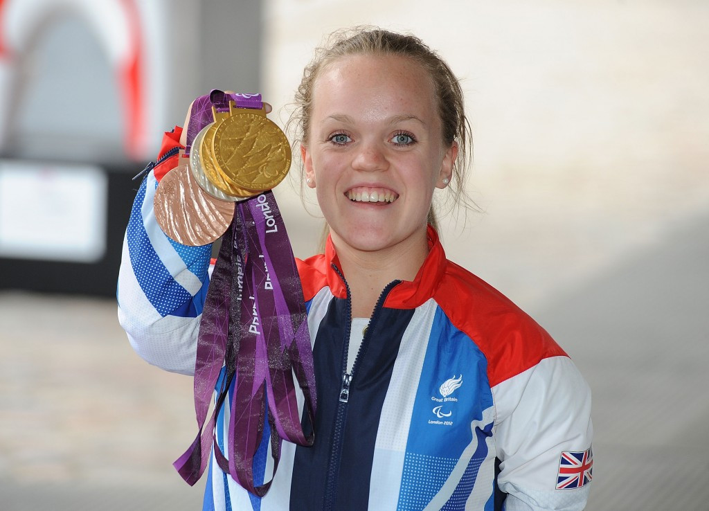 Simmonds set for first return to scene of London 2012 triumphs on National Paralympic Day