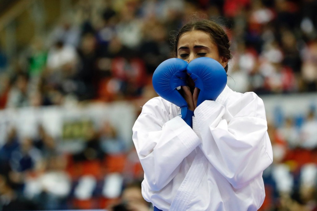 Thouy gets shot at redemption as French trio reach finals at Karate World Championships