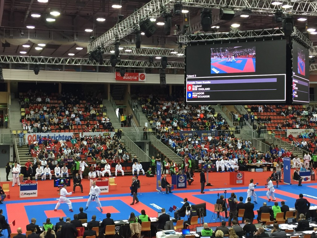 Karate World Championships: Day three of competition
