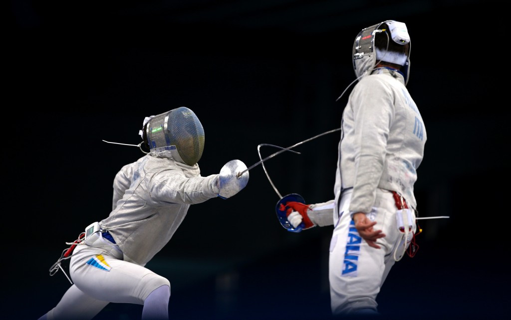 Valery Ilyin was previously a fencer before coaching modern pentathlon ©Getty Images