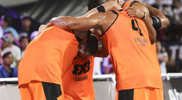 Caguas reach quarter-final at FIBA 3x3 World Tour Abu Dhabi Final after impressive opening day