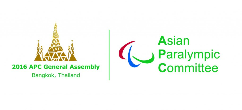 Asian Paralympic Committee reveals agenda and logo for General Assembly in Bangkok