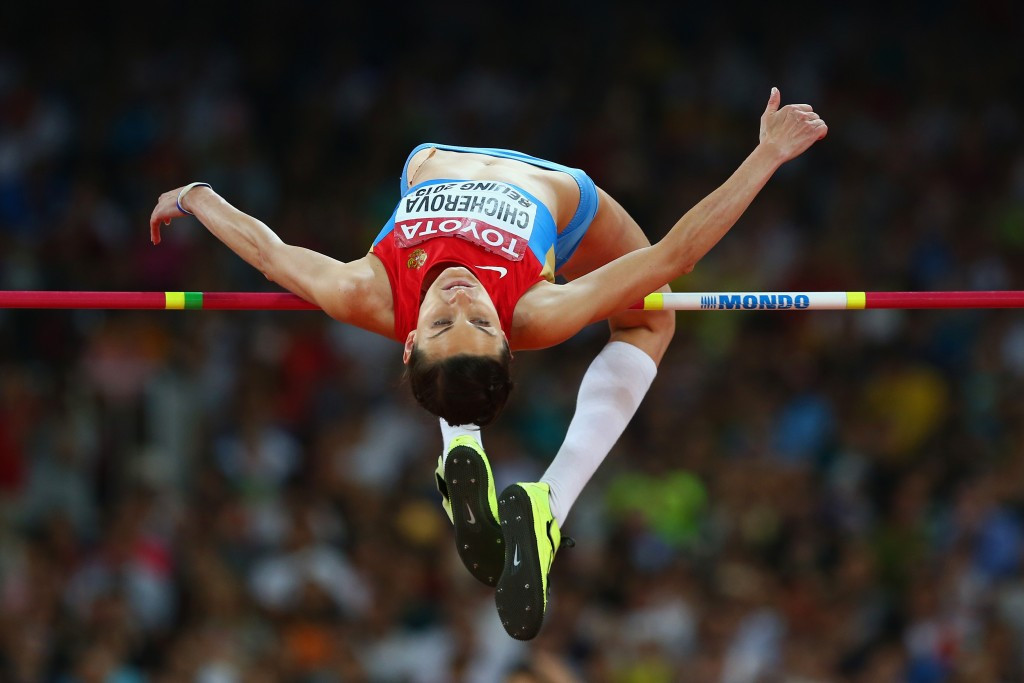 Russian Olympic high jump champion appeals against IOC decision to strip her of Beijing 2008 bronze medal