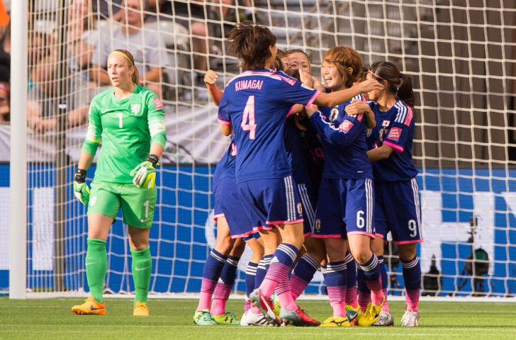 Japan booked their place in the quarter-finals of the Women's World Cup with a 2-1 victory over The Netherlands ©Getty Images