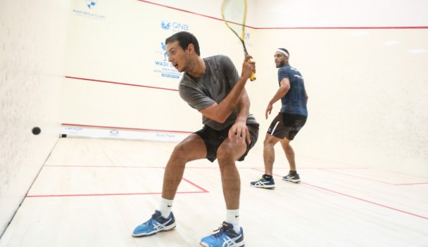 Fathi fights back to win second round thriller at PSA Men's World Championship
