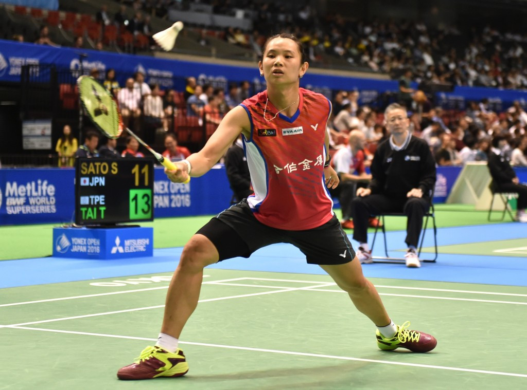 Chinese Taipei's Tai Tzu Ying was the most notable casualty in the women's singles competition ©Getty Images