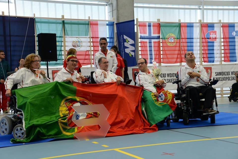 Portugal earned three gold medals in Poznan ©Facebook/bocciapolska