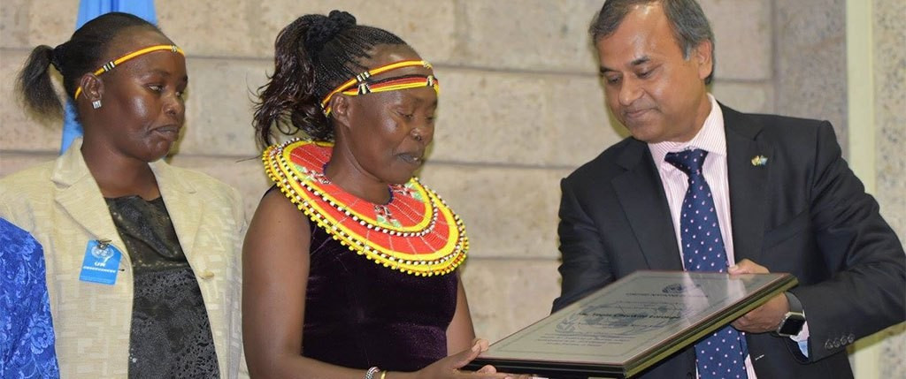 Tegla Loroupe has been named as the United Nations Person of the Year ©UN Information Centre Nairobi