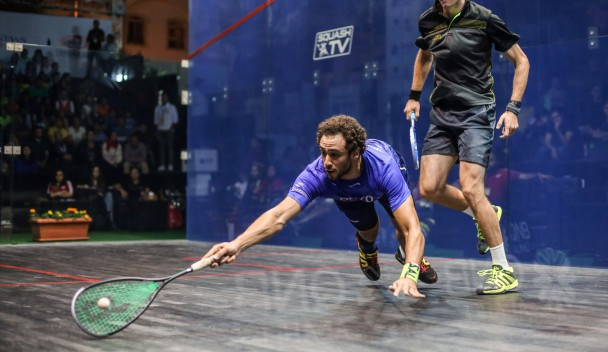 Ashour eases into PSA Men's World Championship third round