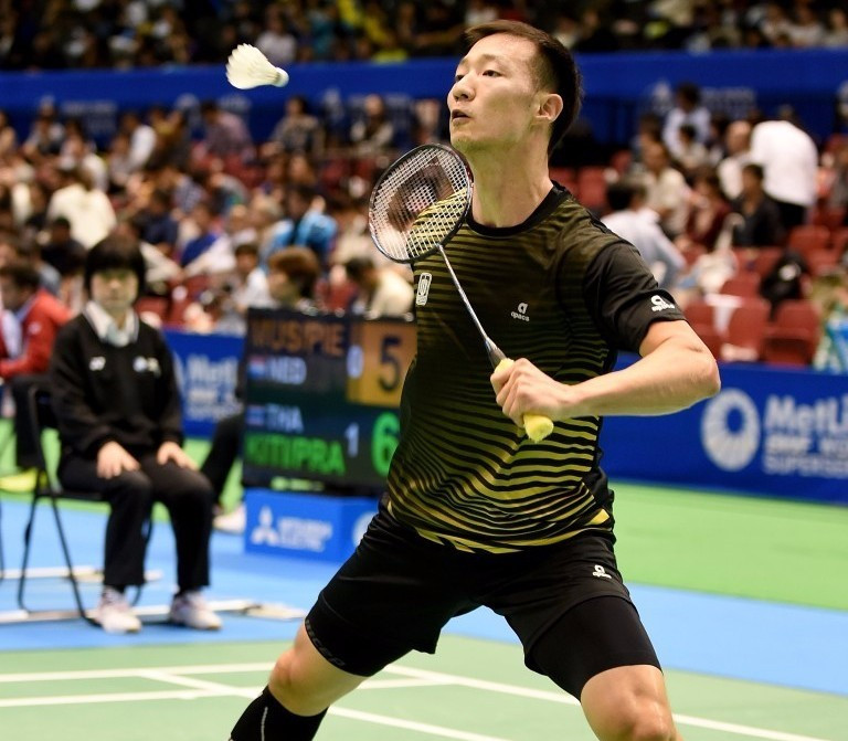 South Korea's Lee Hyun Il defeated eighth seed Ng Ka Long Angus to reach the men's singles final at the BWF French Open ©Getty Images