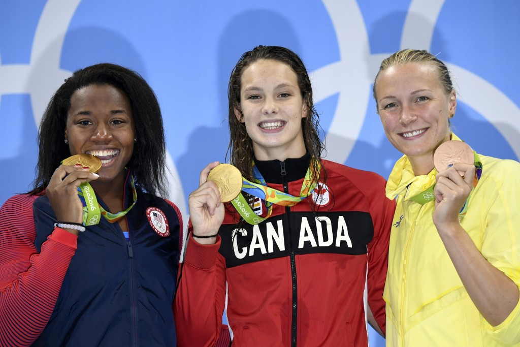 Canada earned 22 medals at the Rio 2016 Olympics Games, including four golds ©Getty Images