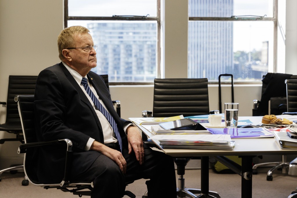 Australian Olympic Committee President John Coates originally made the proposal to allow athletes from Oceania to compete at the Asian Winter Games in Sapporo next year ©Getty Images