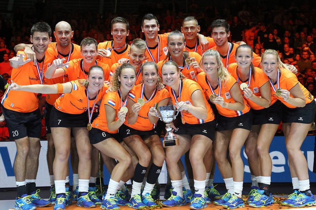 Netherlands overcome Belgium to win second successive European Korfball Championships title