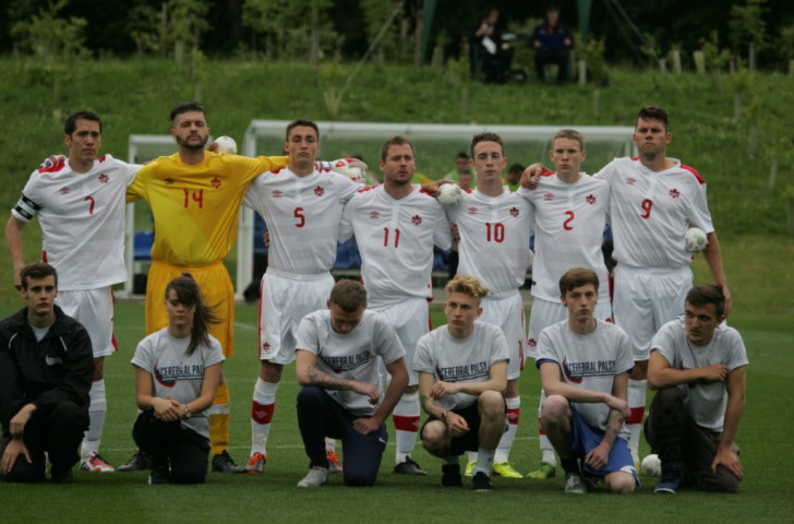 Goalkeeper comes outfield to win game for Canada at Cerebral Palsy Football World Championships