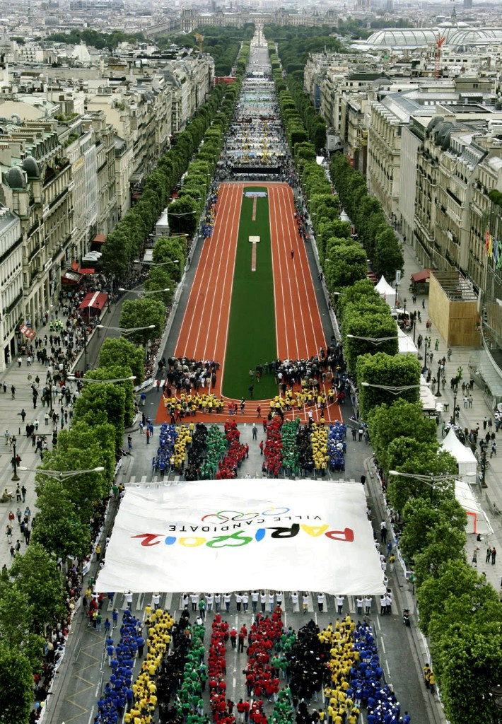 Paris were the favourites for most of the campaign to host the 2012 Olympics and Paralympics but were beaten by London